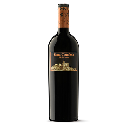 Sierra Cantabria Colección Privada, 2017 vino tinto 100% Tempranillo
