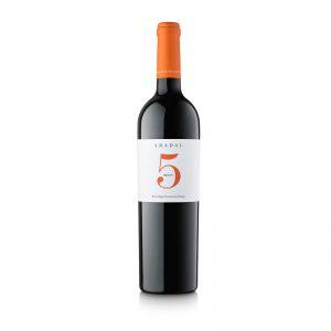Abadal 5 Merlot, 2016, vino tinto