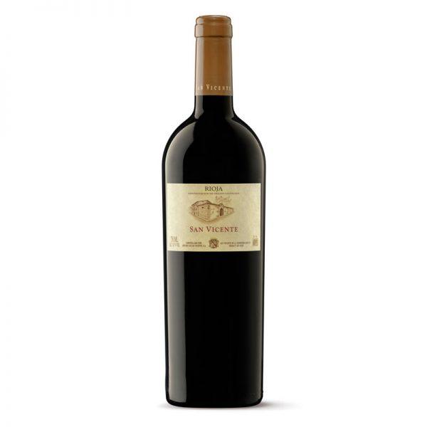 San Vicente, 2016 vino tinto 100% Tempranillo peludo
