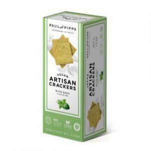 Crackers Veganas de Albahaca, Single Edition
