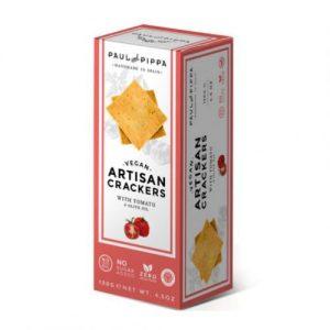 Crackers Veganas de Tomate Single Edition