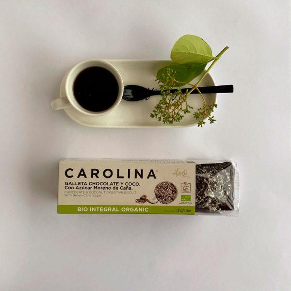 Galleta Integral Chocolate y Coco rallado