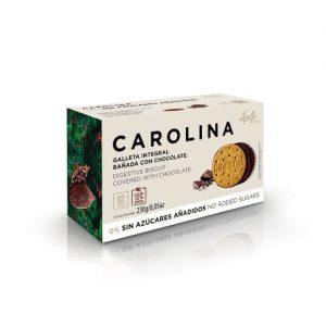Galleta Integral bañada con chocolate