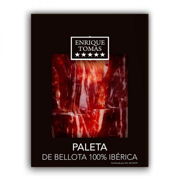 Paleta de Bellota 100% Ibérico. Enrique Tomás