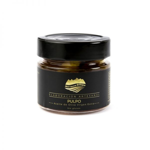 Pulpo en Aceite de Olive Virgen Extra. Mareterra Deluque