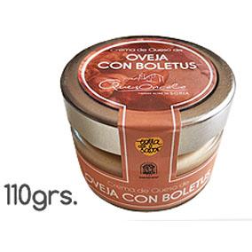 Crema de queso Oveja con Boletus