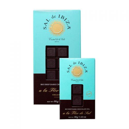 Chocolate negro 70% y Flor de Sal