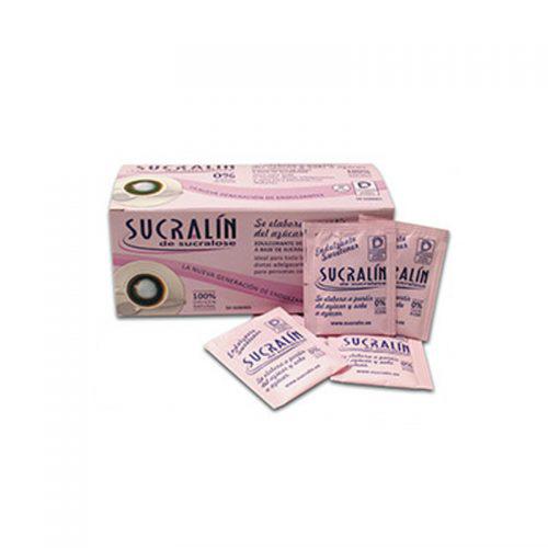 Sucralín sachettes. Gama farmacias y herbolario