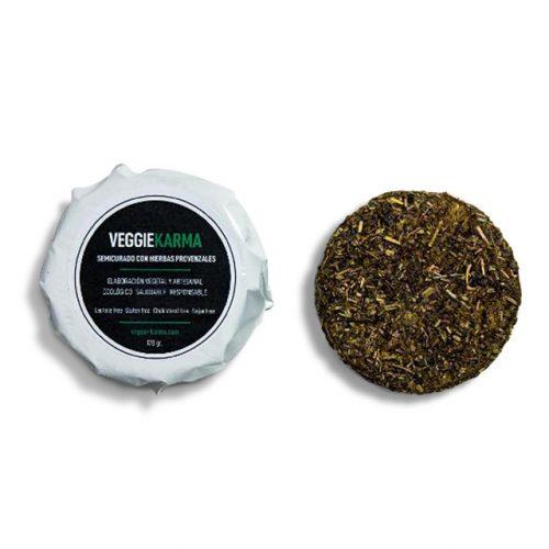 Semicurado con hierbas provenzales (queso) karmage fermentado vegano
